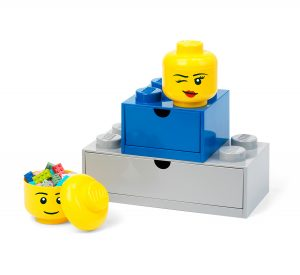 lego 5006211 storage head mini winking