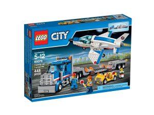 lego 60079 training jet transporter