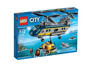 lego 60093 deep sea helicopter