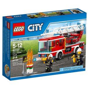 lego 60107 fire ladder truck