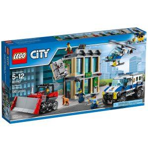 lego 60140 bulldozer break in