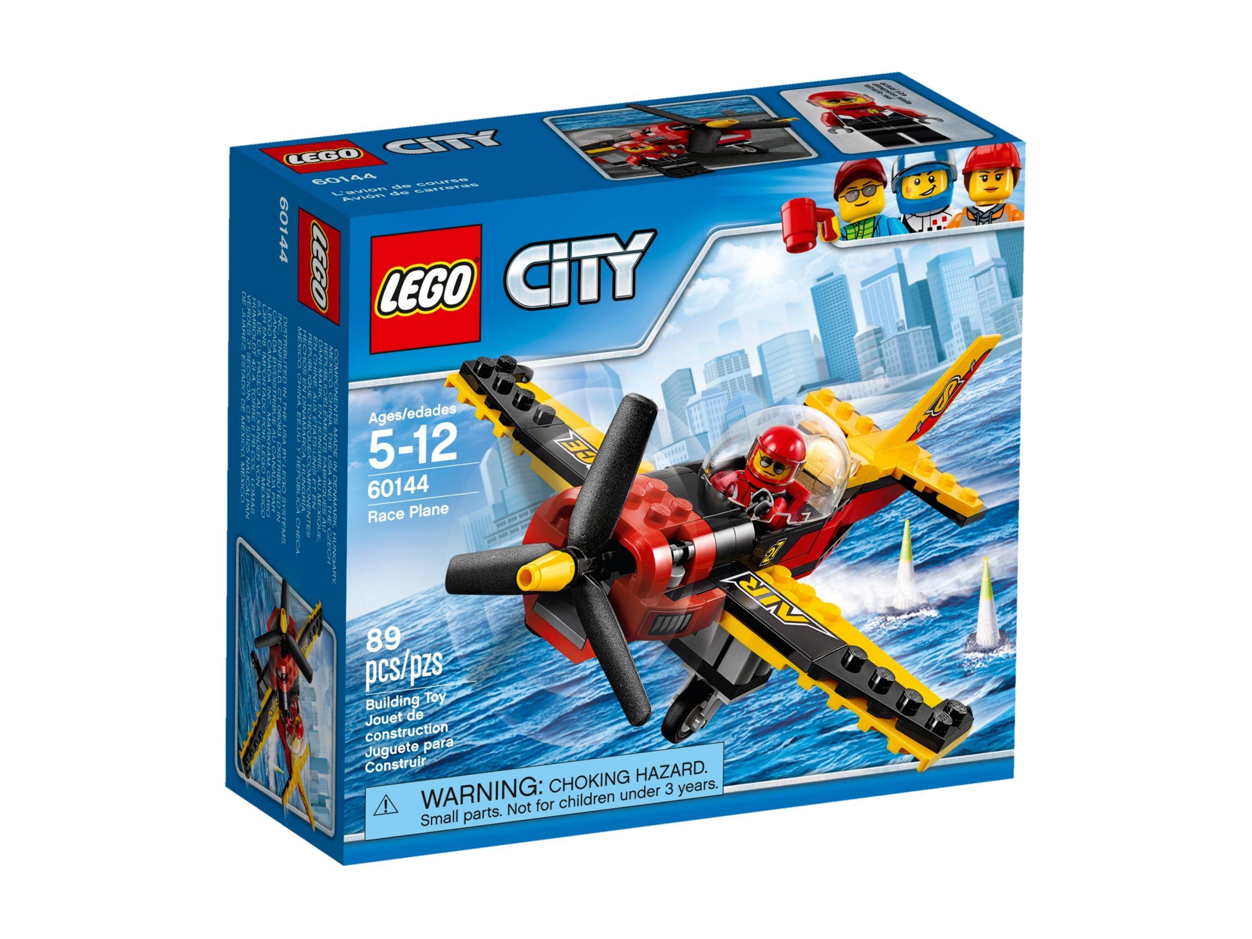 lego 60144 race plane scaled