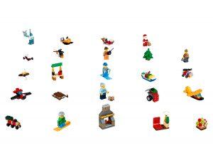 lego 60155 city advent calendar