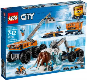 lego 60195 arctic mobile exploration base