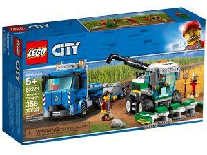lego 60223 harvester transport