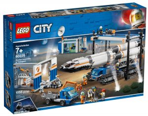 lego 60229 rocket assembly transport