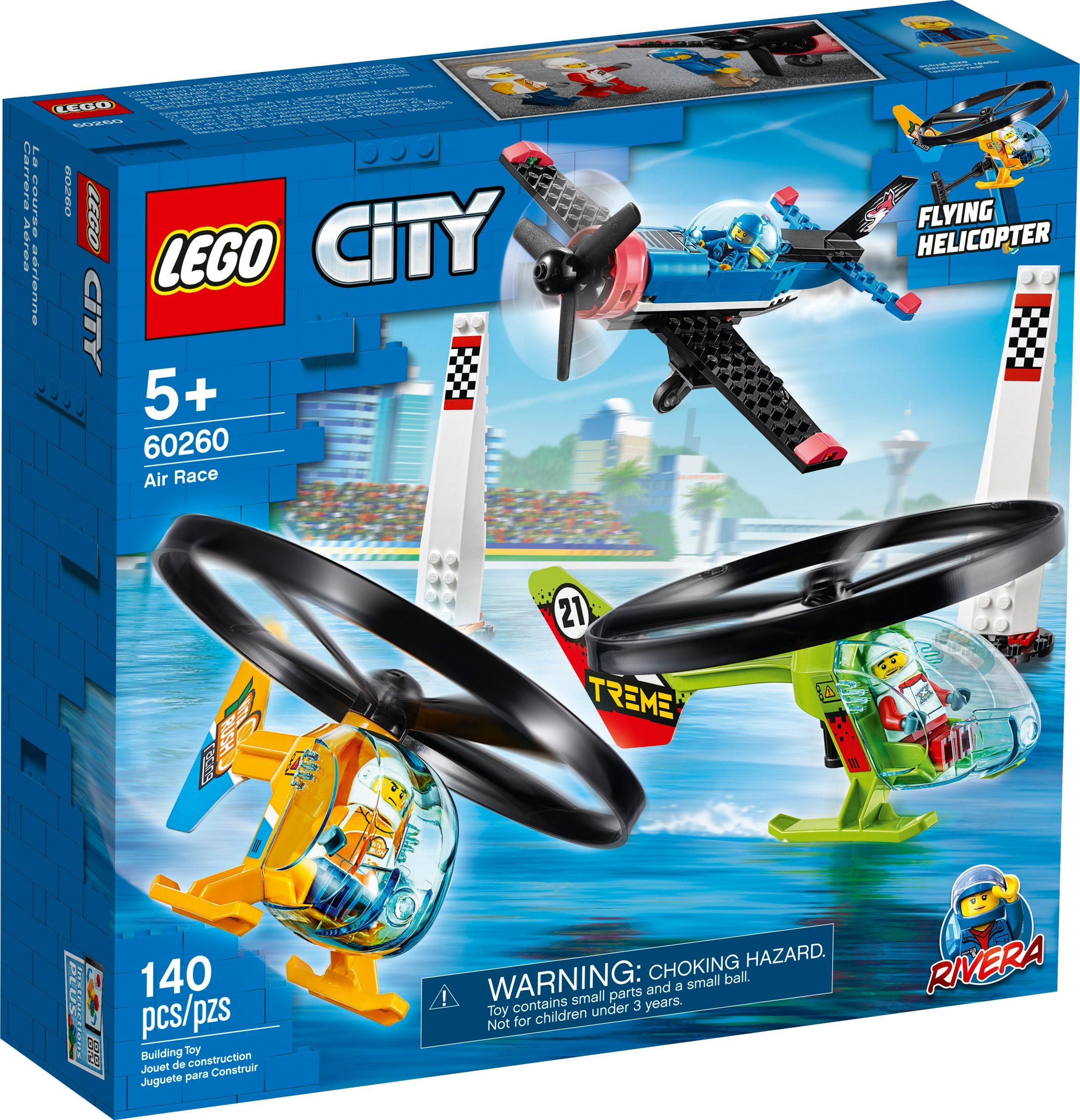 lego 60260 air race scaled