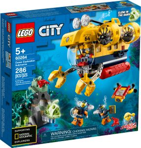 lego 60264 ocean exploration submarine