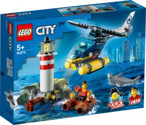 lego 60274 police lighthouse capture
