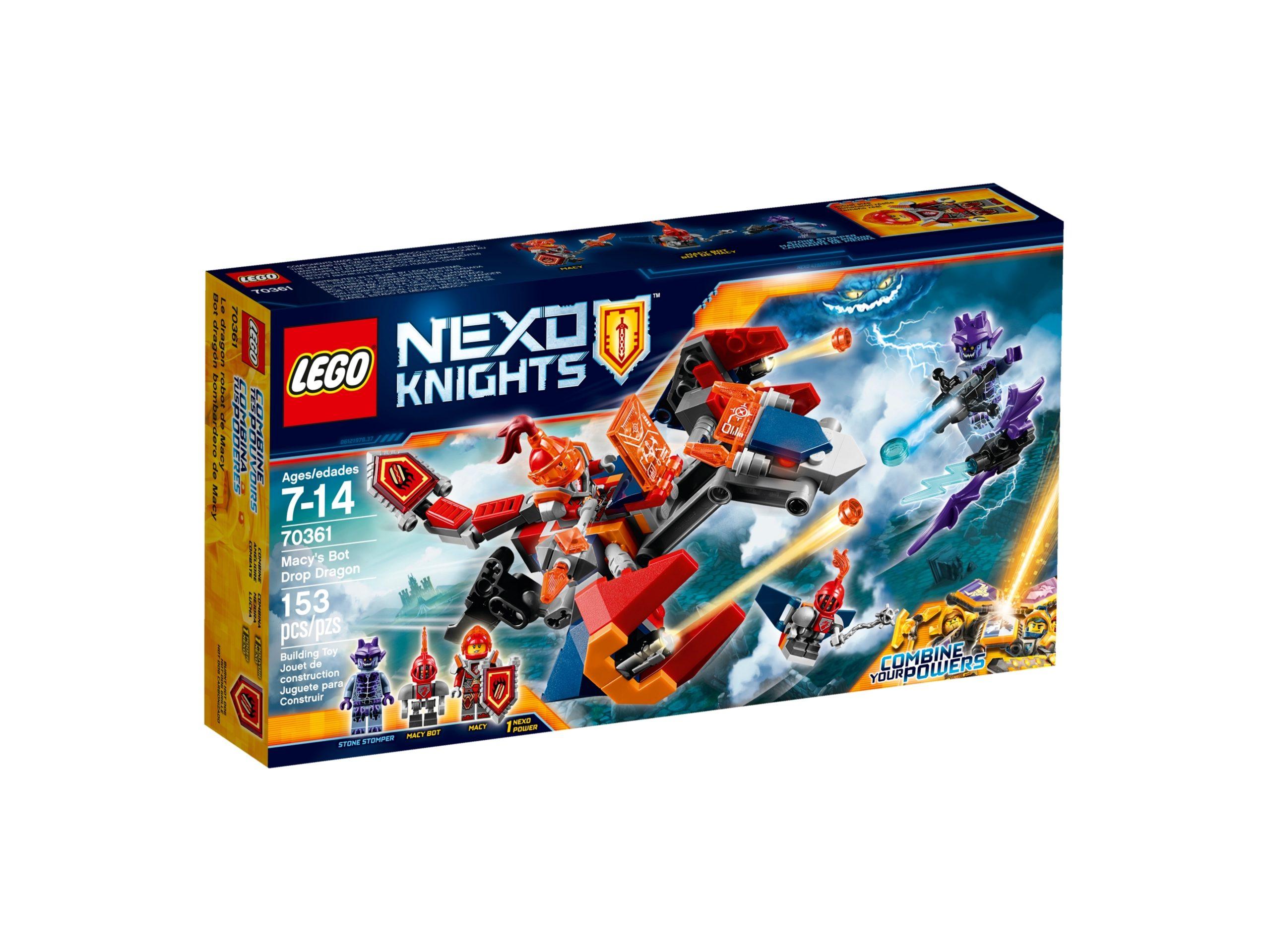 lego 70361 macys bot drop dragon scaled