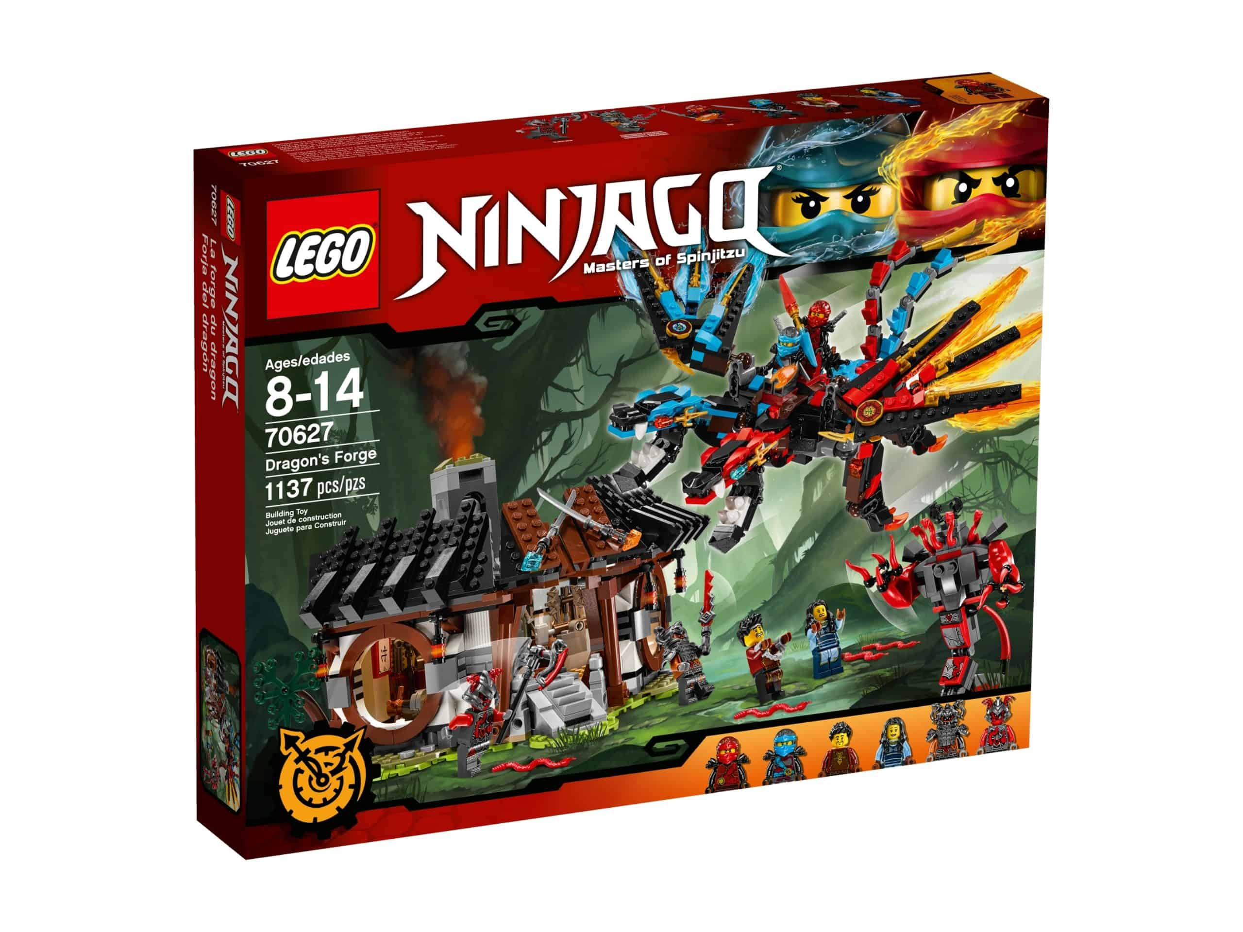 lego 70627 dragons forge scaled