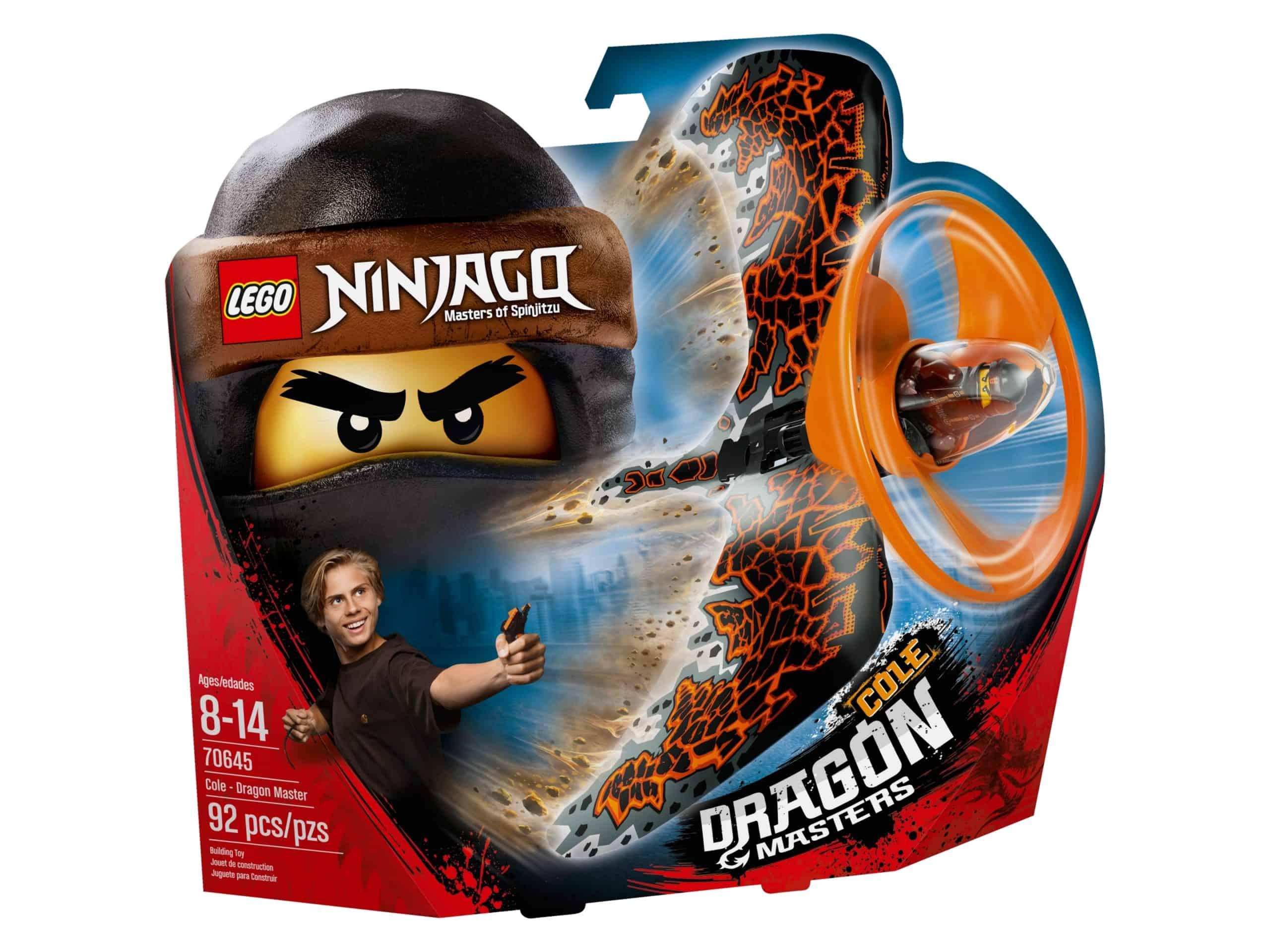 lego 70645 cole dragon master scaled
