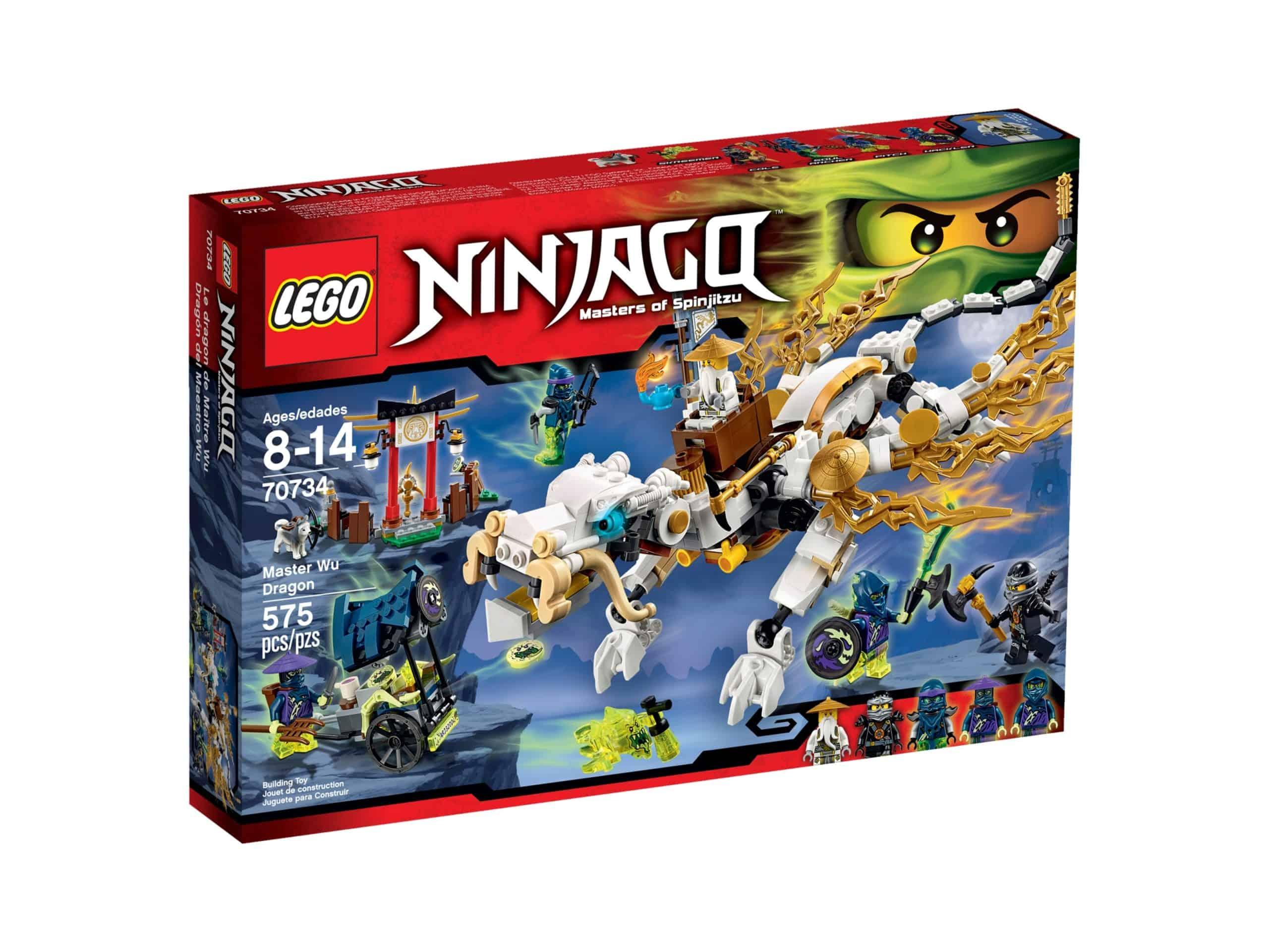 lego 70734 master wu dragon scaled
