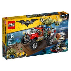 lego 70907 killer croc tail gator