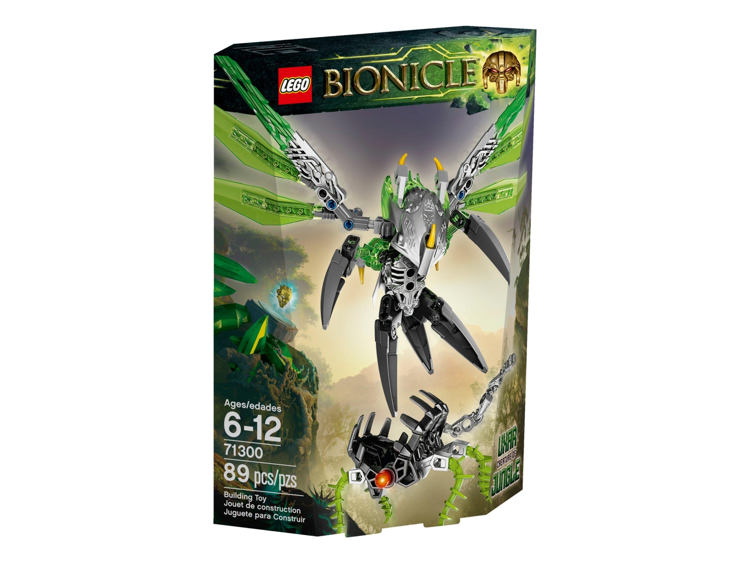 lego 71300 uxar creature of jungle scaled