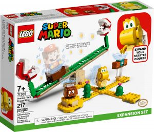 lego 71365 piranha plant power slide expansion set