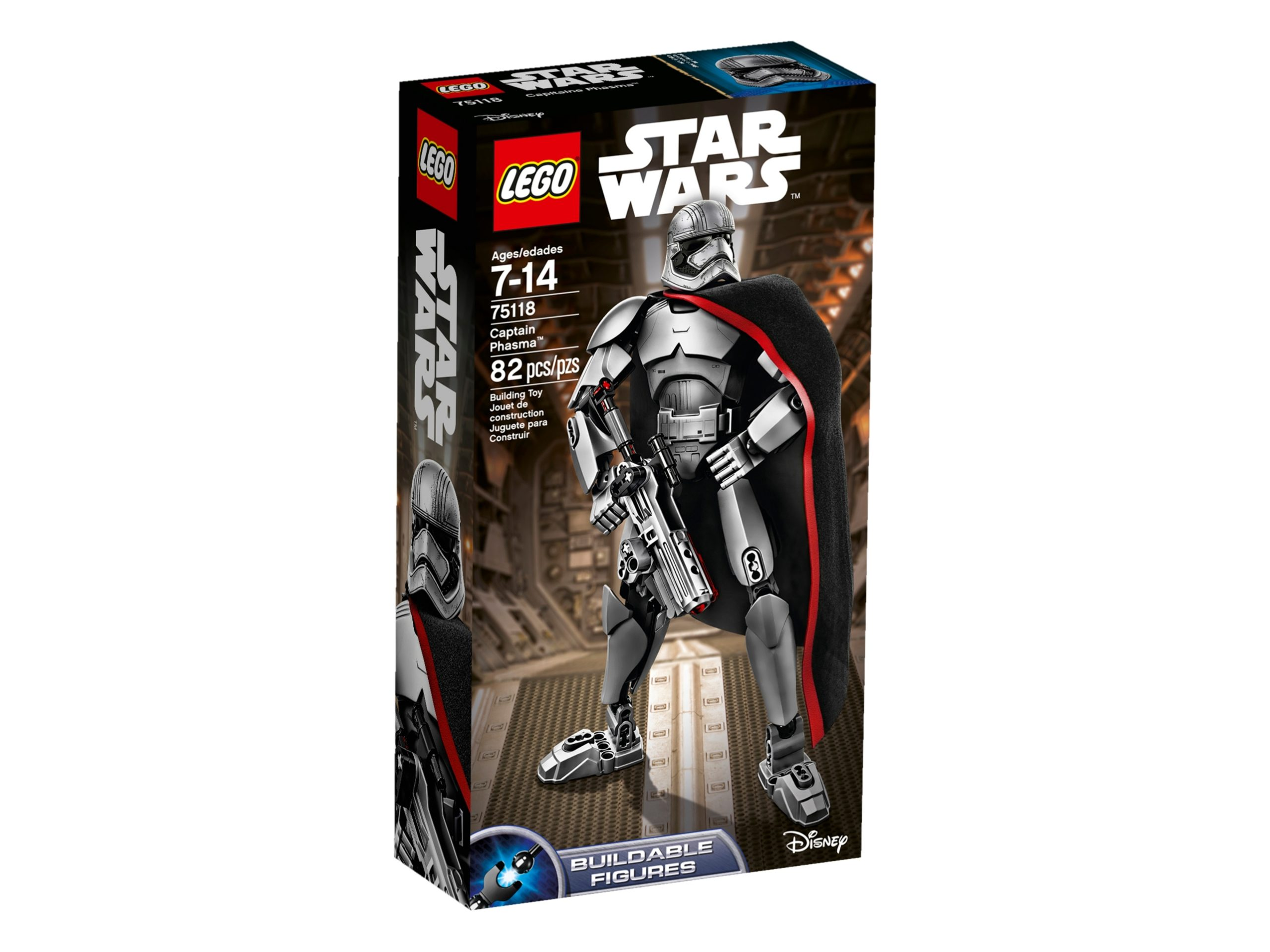 lego 75118 captain phasma scaled