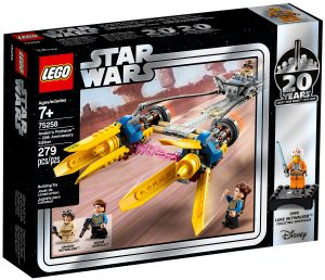 lego 75258 anakins podracer 20th anniversary edition