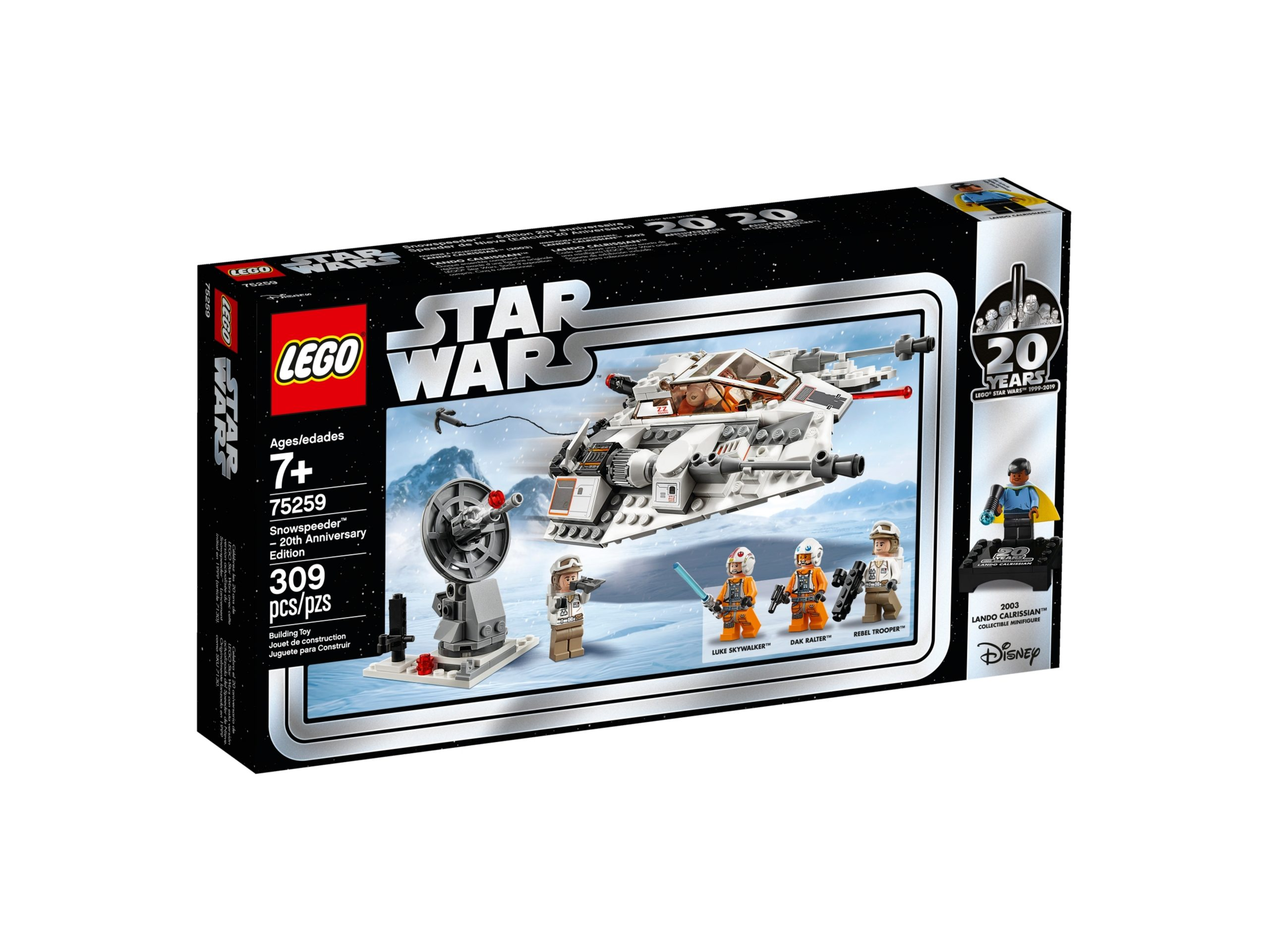 lego 75259 snowspeeder 20th anniversary edition scaled