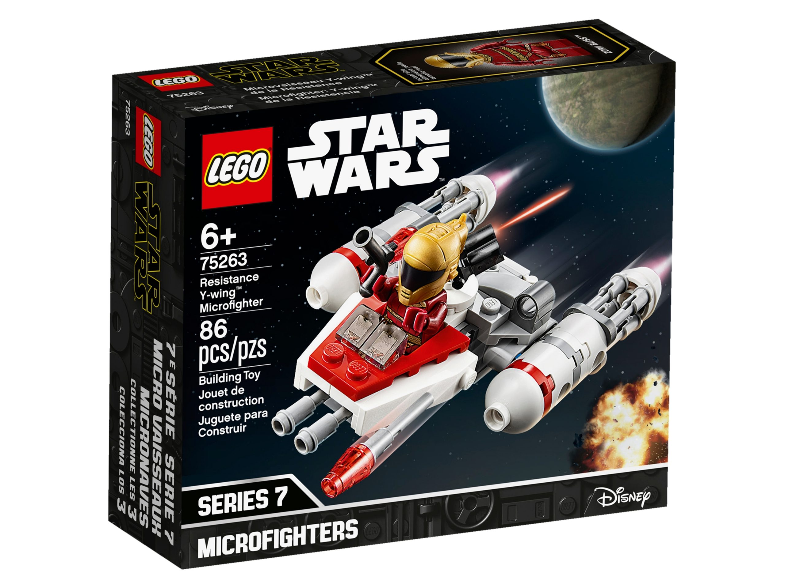 lego 75263 resistance y wing microfighter scaled