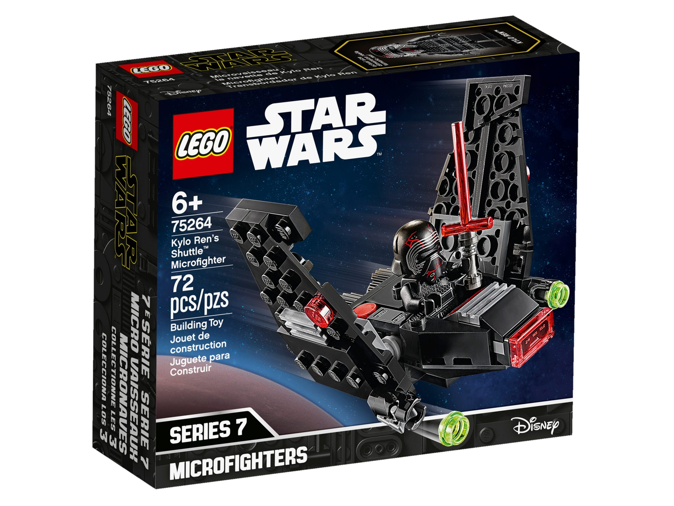 lego 75264 kylo rens shuttle microfighter scaled