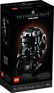 lego 75274 tie fighter pilot helmet
