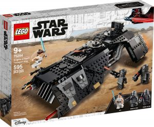 lego 75284 knights of ren transport ship