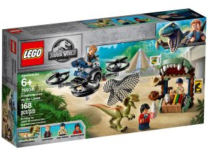 lego 75934 dilophosaurus on the loose