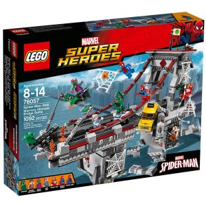 lego 76057 spider man web warriors ultimate bridge battle