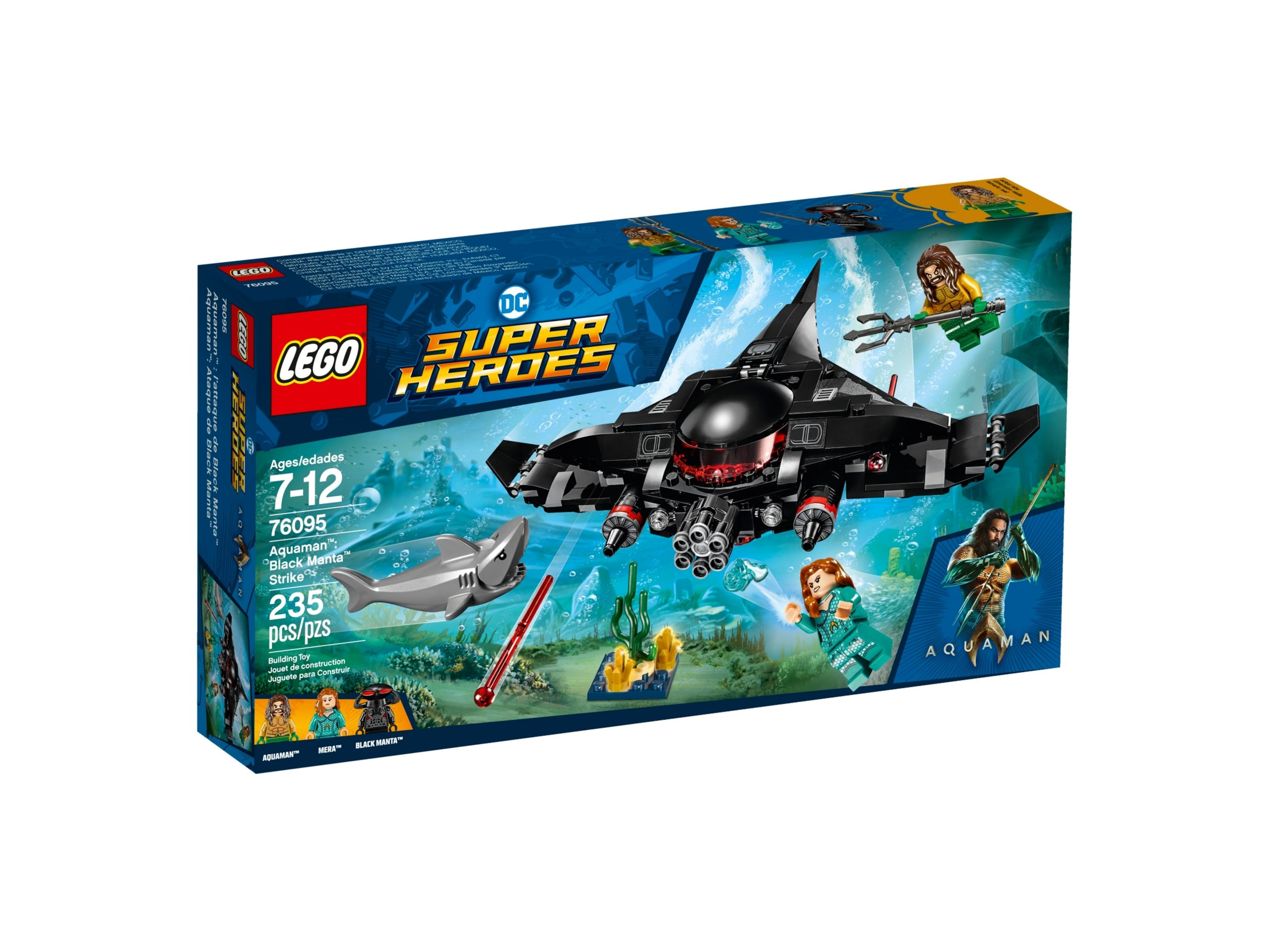 lego 76095 aquaman black manta strike scaled