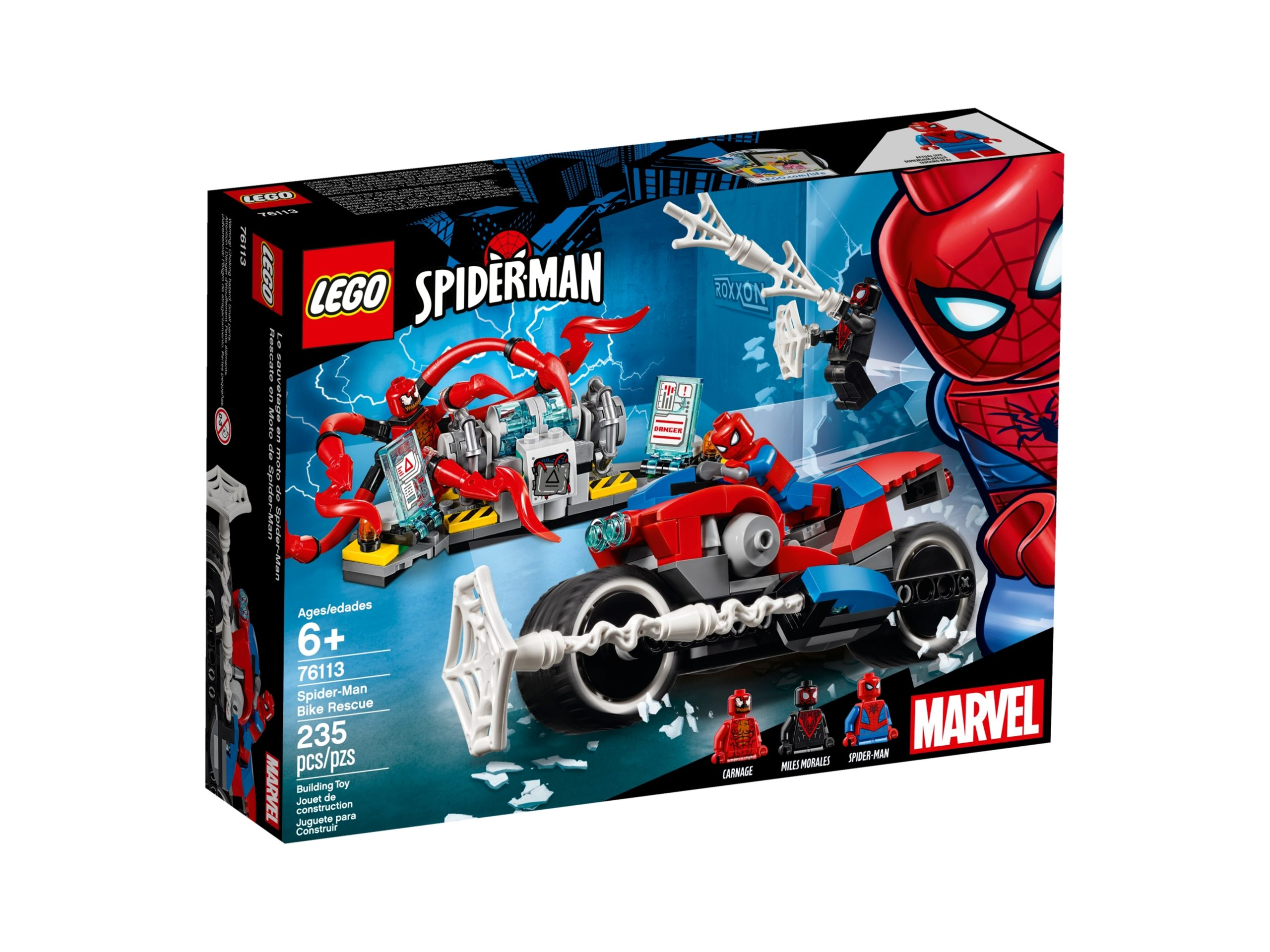 lego 76113 spider man bike rescue scaled