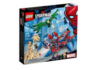 lego 76114 spider mans spider crawler