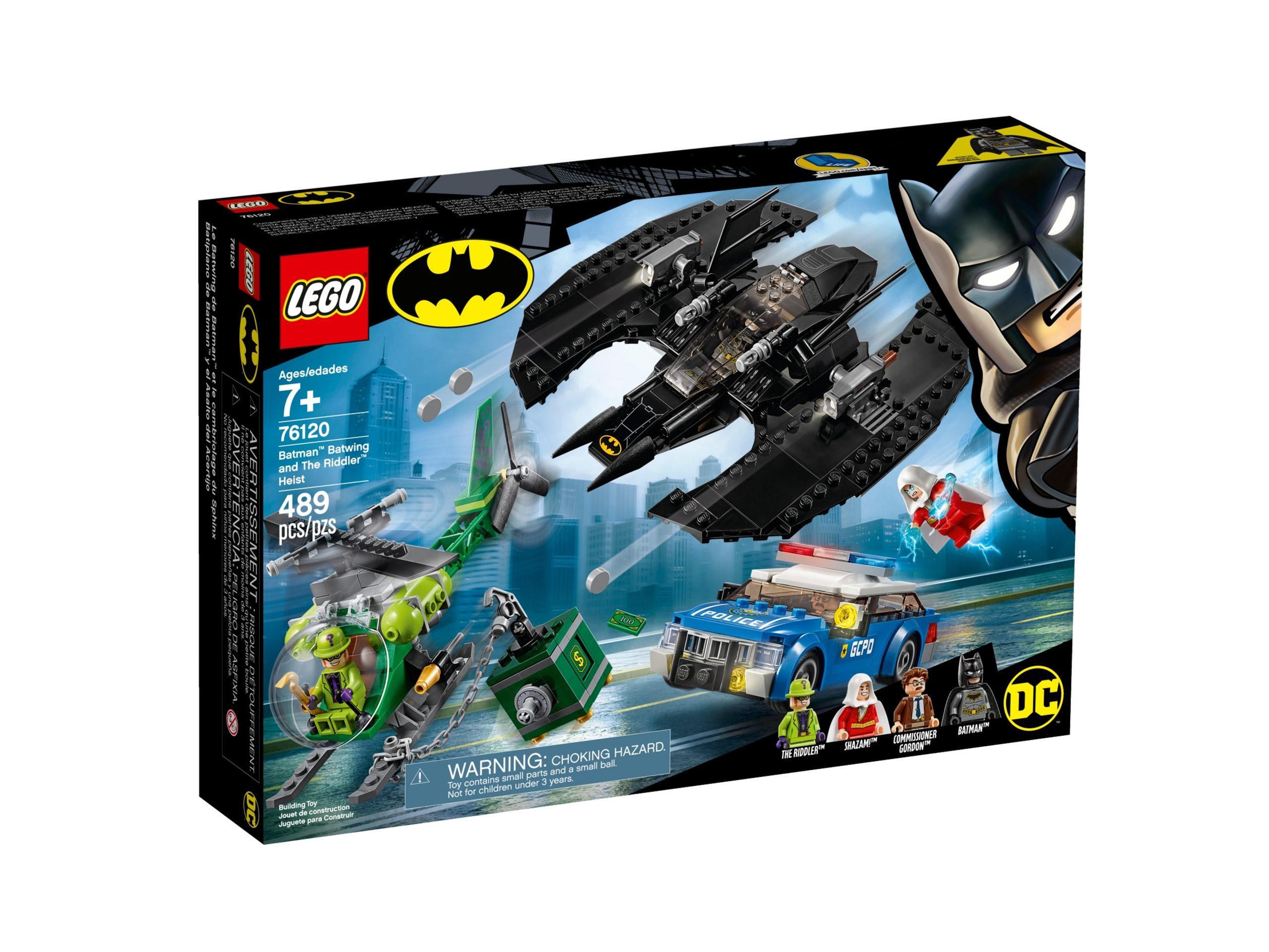 lego 76120 batman batwing and the riddler heist scaled