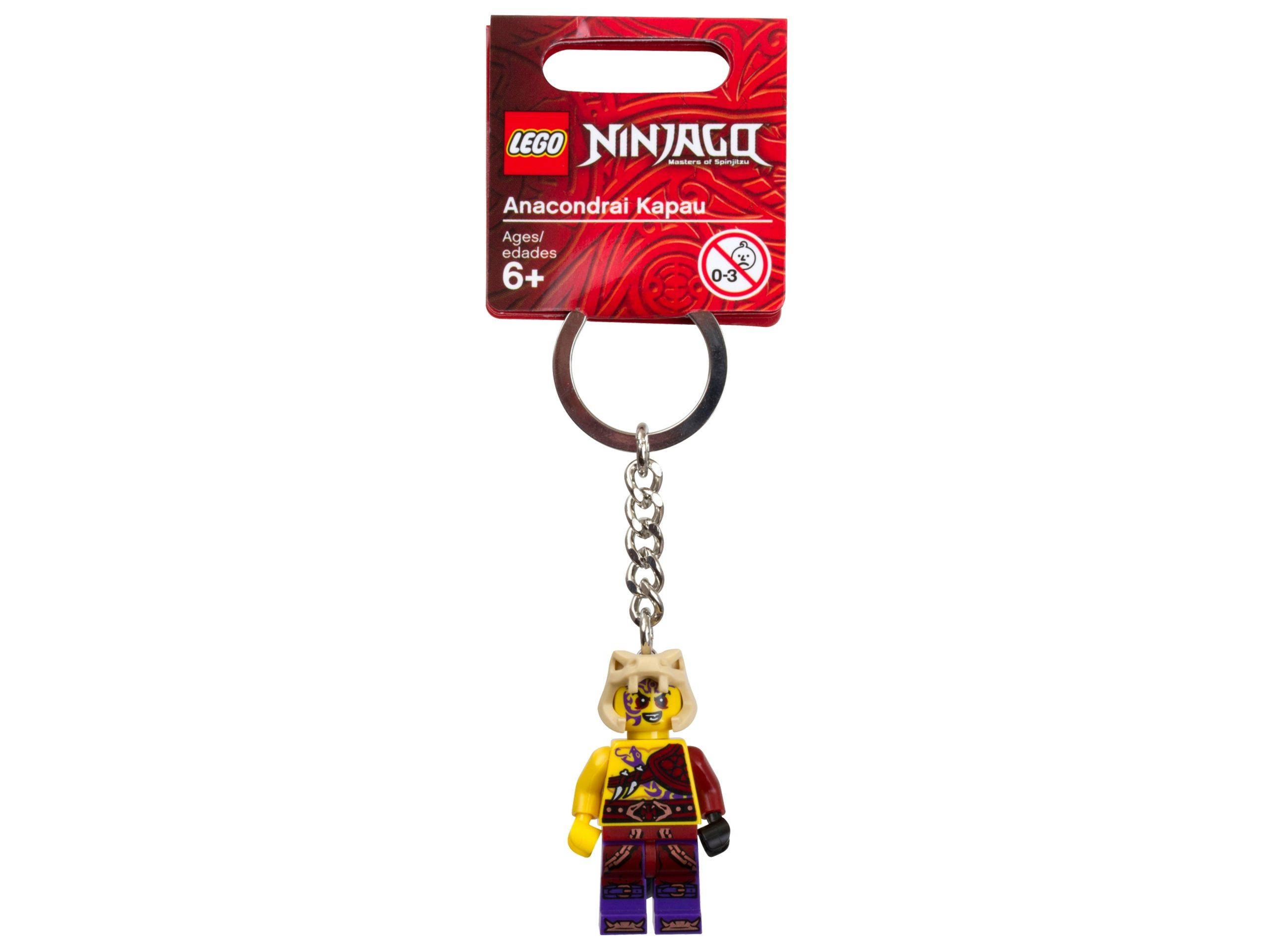 lego 851353 ninjago anacondrai kapau key chain scaled