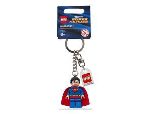 lego 853430 super heroes superman key chain