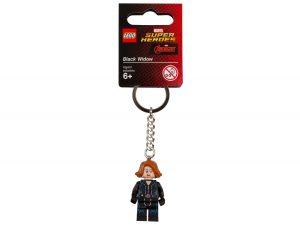 lego 853592 marvel super heroes black widow key chain