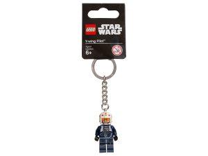 lego 853705 star wars y wing pilot key chain