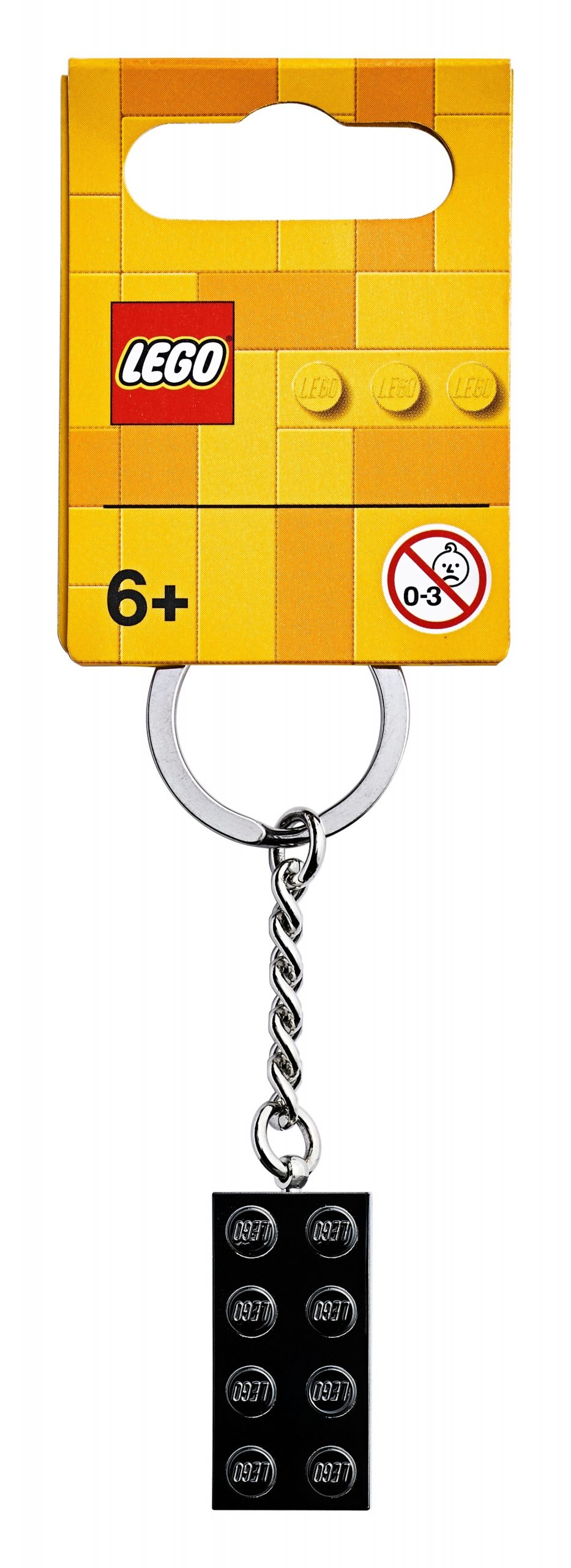 lego 853992 2x4 black metallic key chain scaled
