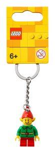 lego 854041 happy helper elf key chain