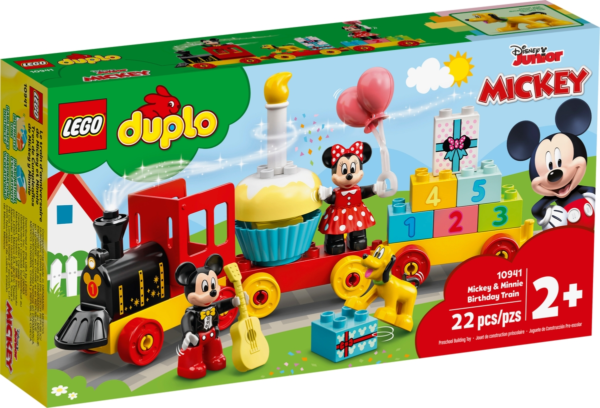 lego 10941 mickey minnie birthday train