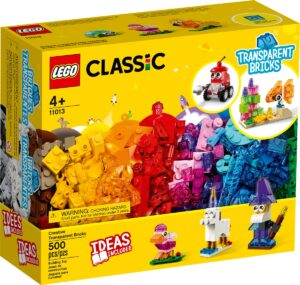 lego 11013 creative transparent bricks