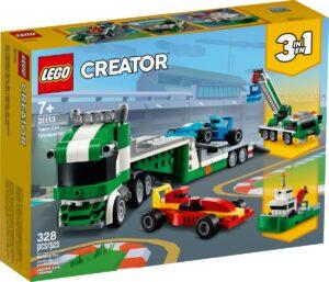 lego 31113 race car transporter