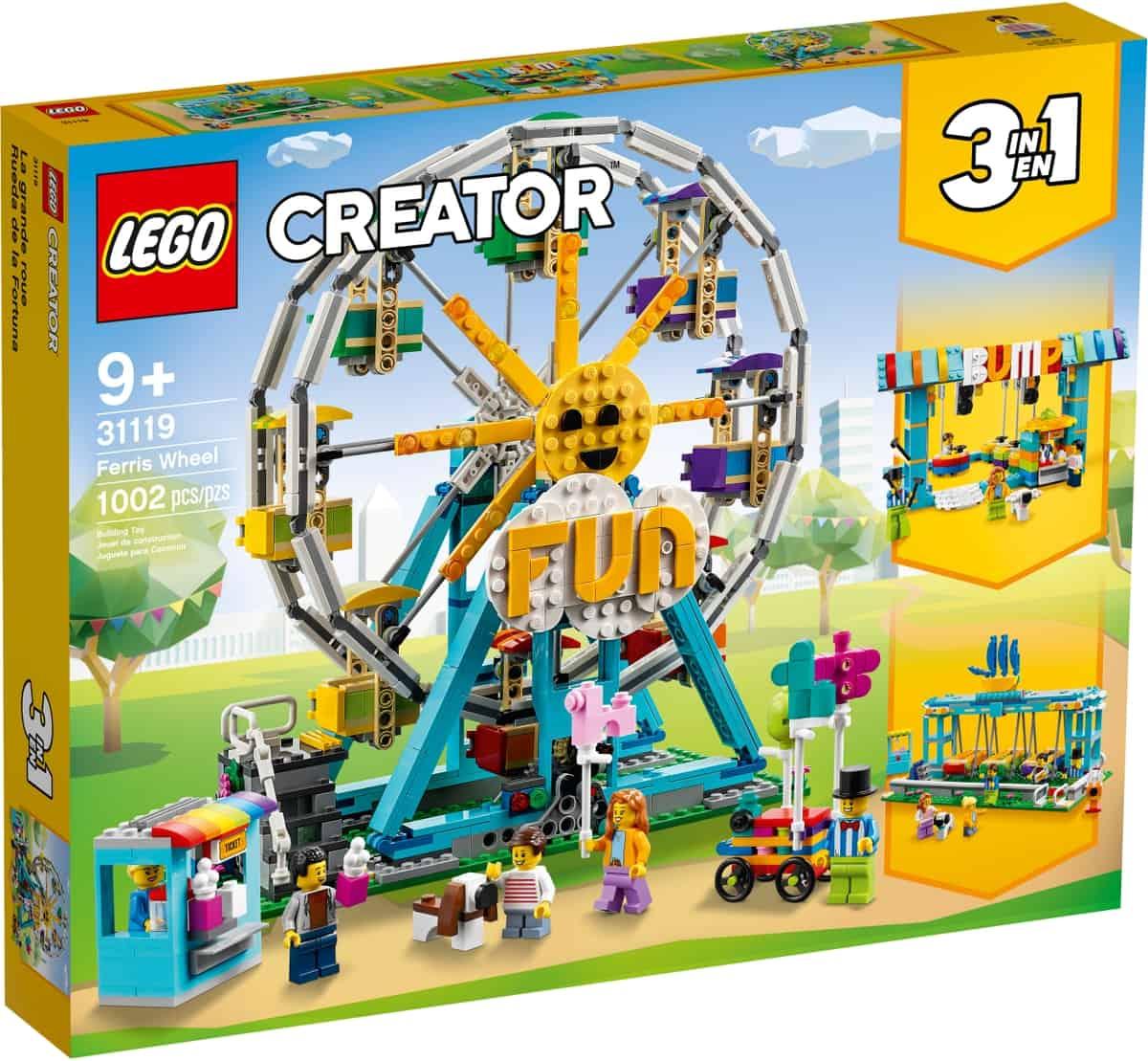 LEGO 31119 Ferris Wheel - 20210517