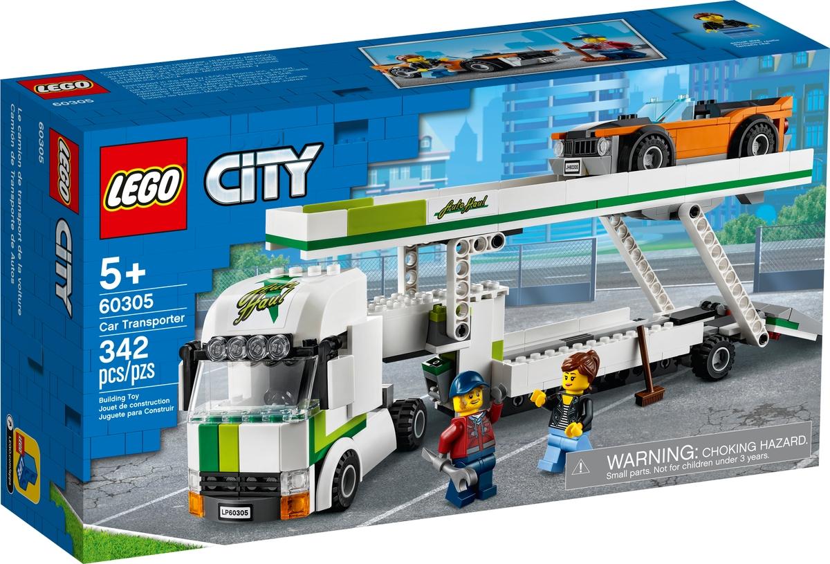 lego 60305 car transporter