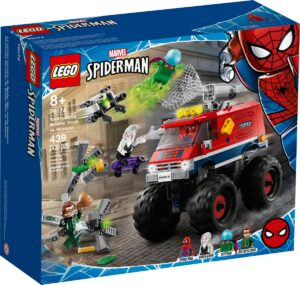 lego 76174 spider mans monster truck vs mysterio
