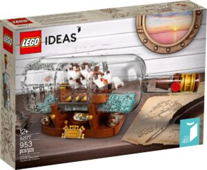 lego 92177 ship in a bottle