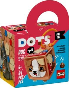 lego 41927 bag tag dog