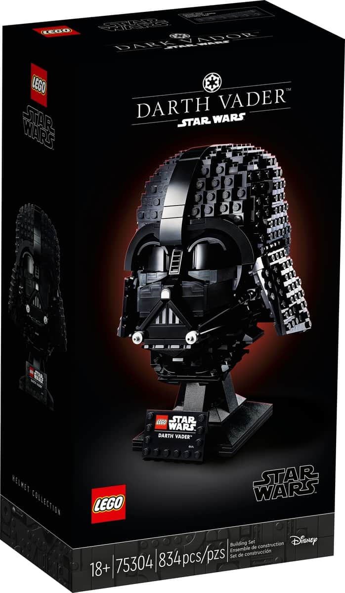 lego 75304 darth vader helmet