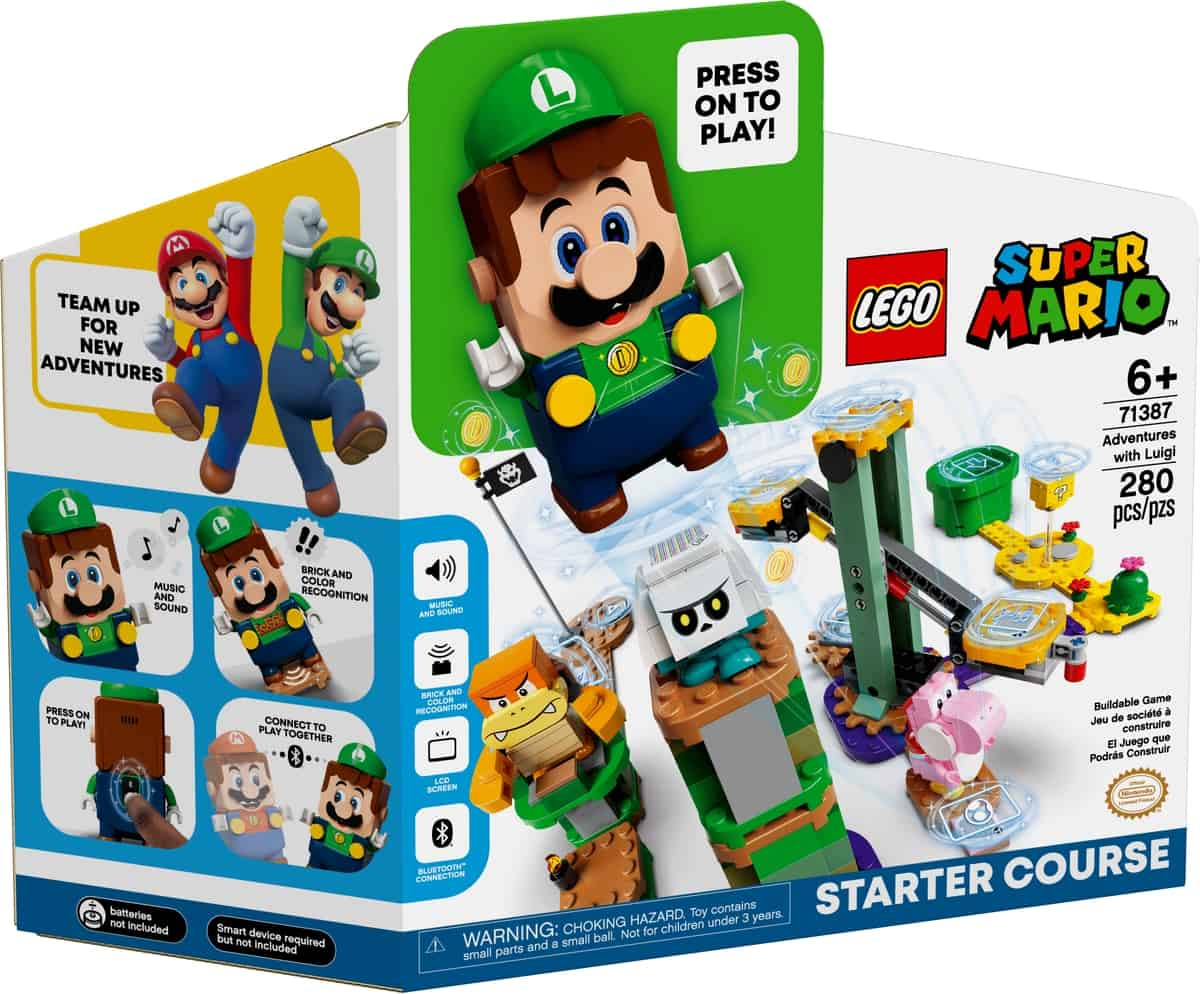 lego 71387 adventures with luigi starter course