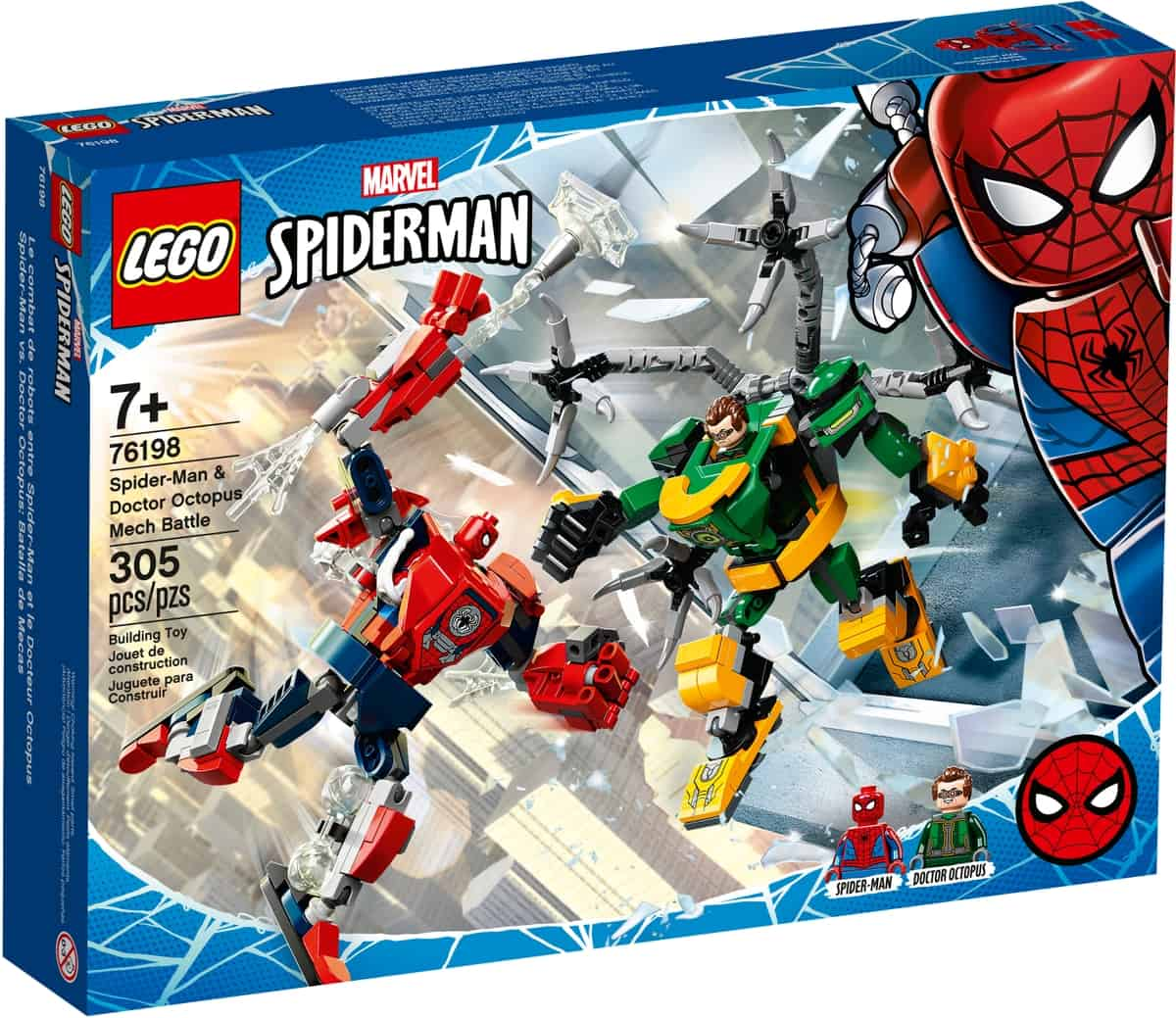 lego 76198 spider man doctor octopus mech battle